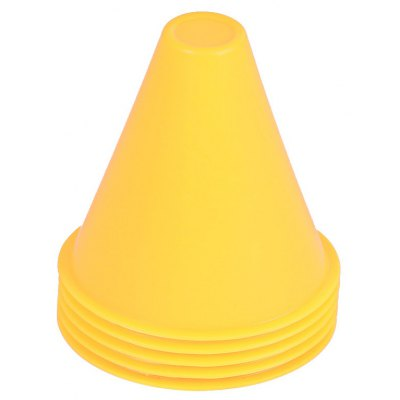 5pcs Fitness Equipment Drill Space Marker Cones Slalom