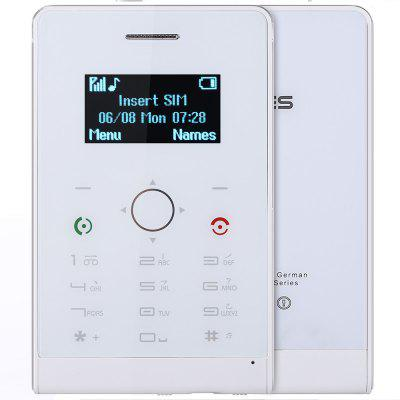 SOYES H1 Ultra-thin Full Touch Card Phone