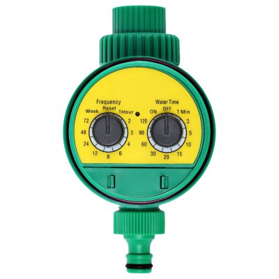 Buy YELLOW Digital Sprinkler Control Irrigation Timer for $19.89 in GearBest store