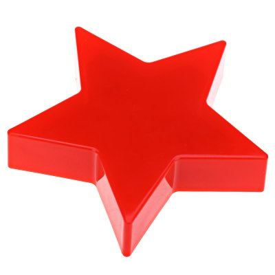 Plastic Star Shaped LED Candle Light