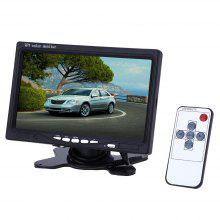XM722T 7 Inch Car Headrest 234 x 480 TFT LCD Displayer