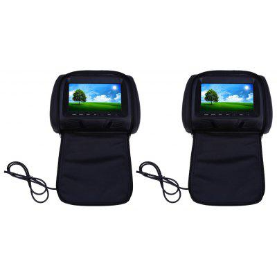 Paired XM779 7 Inch Car Headrest 234 x 480 TFT LCD Monitor
