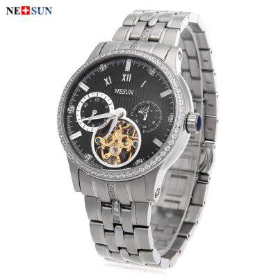 Gearbest Nesun 9093 Male Automatic Self Wind Mechanical Watch