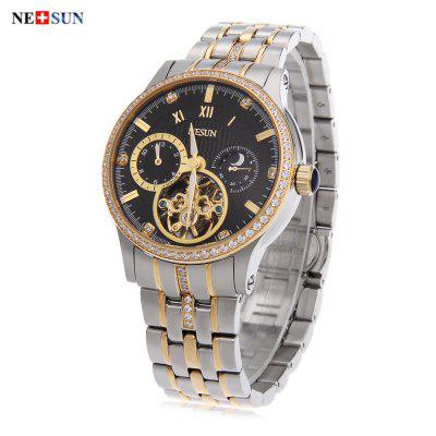 Nesun 9093 Male Automatic Self Wind Mechanical Watch