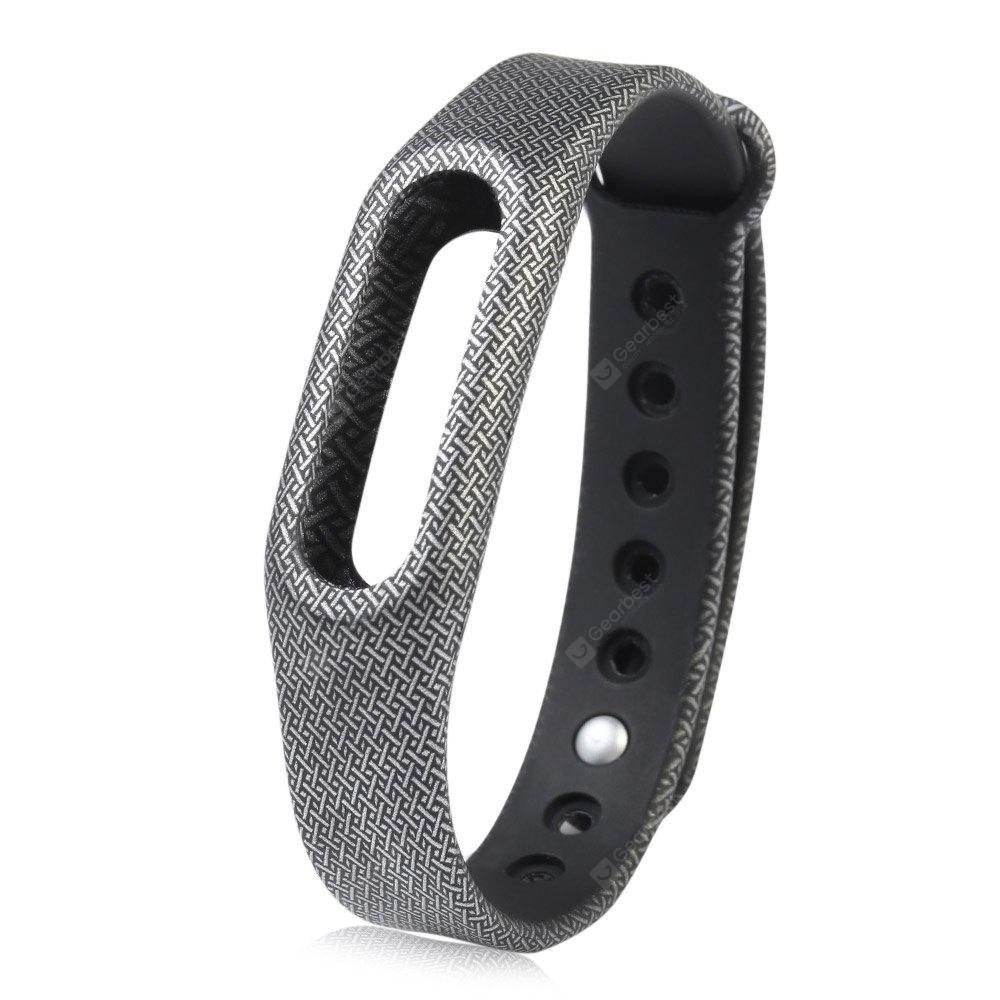 DEEP GRAY 14MM Silicone Strap Wristband for Xiaomi Miband