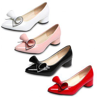 Stylish Pointed Toe Bowknot Low Heel Shoes for Women от GearBest.com INT