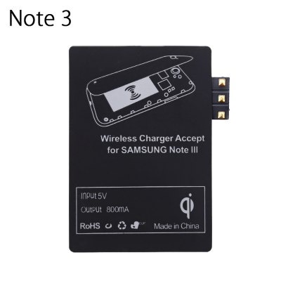 Qi Wireless Charger Transmitter for Samsung Galaxy Note 3