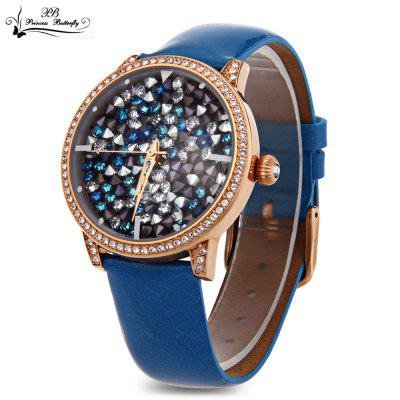 Princess Butterfly HL590 Female Quartz Watch