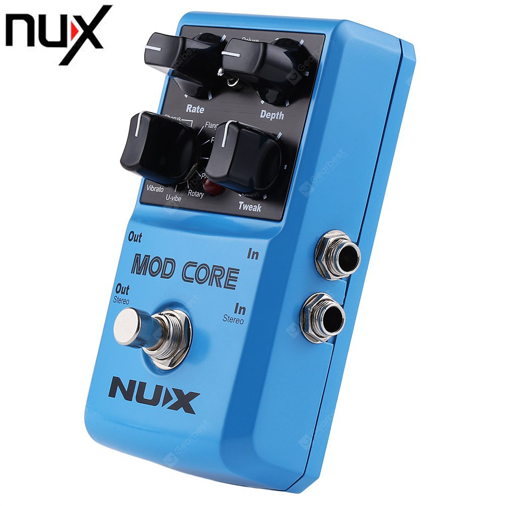 nux mod core multi guitar effect pedal free shipping. Black Bedroom Furniture Sets. Home Design Ideas