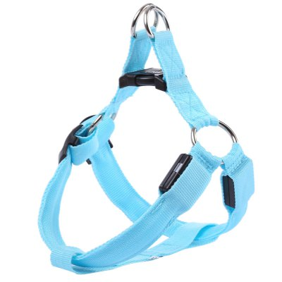 LEDs Pet Safety Collar Glow Belt Tether Rope