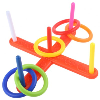 Kids Outdoor Fun Sports Cast Ring Throwing Game