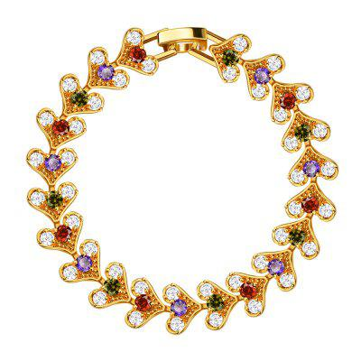 18k Gold Plated Women Bracelet for Gift