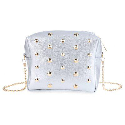 Guapabien Rivet Detachable Chain Mini Shoulder Messenger Bag