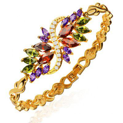 18K Gold Plated Women Classical Bracelet for Gift