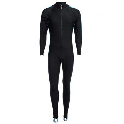 Unisex Watersport Diving Suit WetsuitDiving<br>Unisex Watersport Diving Suit Wetsuit<br><br>Gender: Boys,Girls,Men,Women<br>Material: Nylon<br>Package Contents: 1 x Wetsuit<br>Package Size(L x W x H): 23.00 x 19.00 x 8.50 cm / 9.06 x 7.48 x 3.35 inches<br>Package weight: 0.3410 kg<br>Product weight: 0.3800 kg<br>Size: L,M,XL,XXL,XXXL