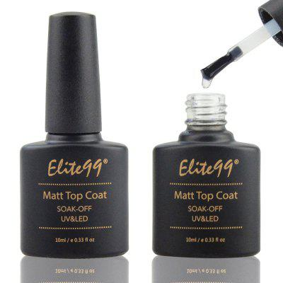 Elite99 Nagel 10ml LED UV-Decklack Scrub Seal Kleber Polish