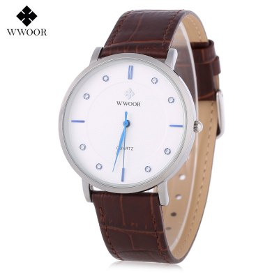 WWOOR WR - 8011 Men Quartz Watch