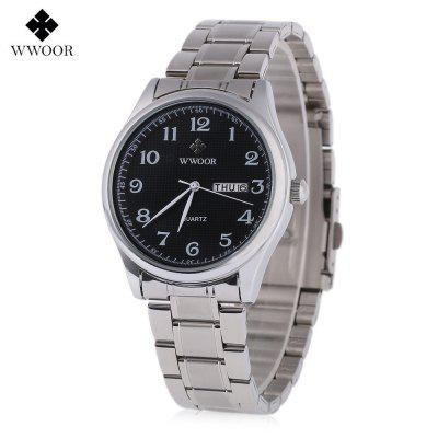 WWOOR 8805G Men Quartz Watch
