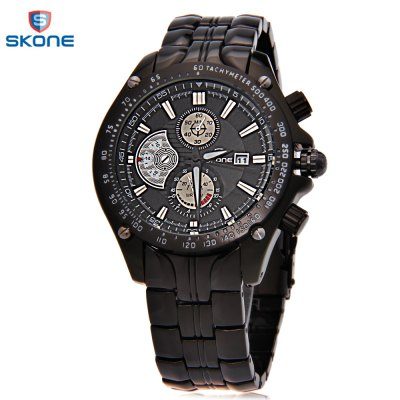 SKONE 7384BG Men Quartz Watch
