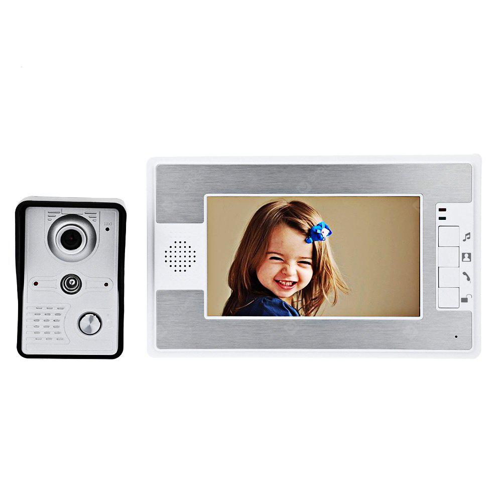 SY812MKW11 Video Interphone 7 Inches Doorbell Intercom