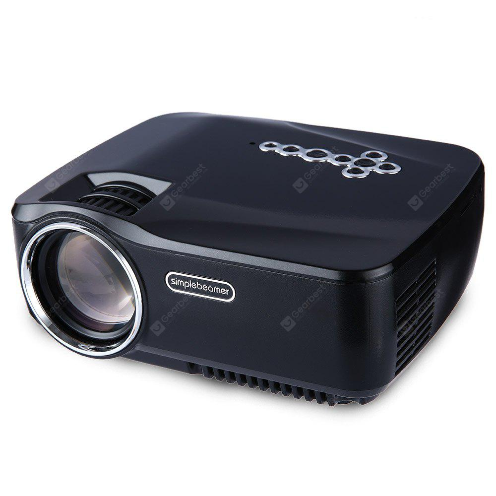 GP - 70UP Full HD 1080P Mini Projecteur Lcd Portable