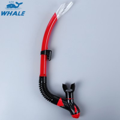 WHALE Swimming Diving Gel Full Dry Snorkel Breathing Tube