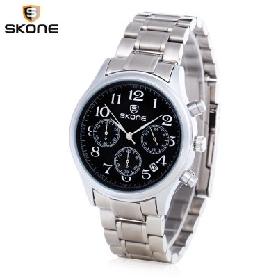 Skone 7395EG Men Quartz Watch