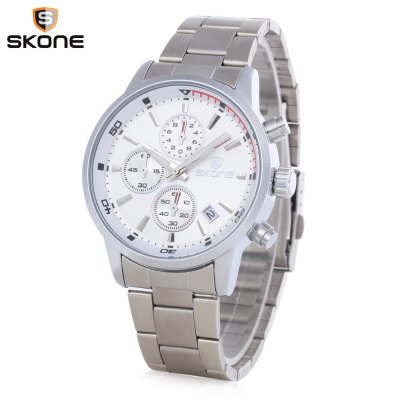 Skone 7390EG Men Quartz Watch