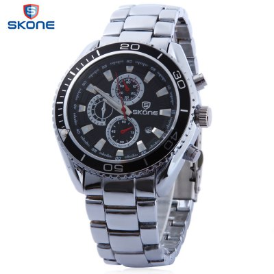 SKONE 7387BG Male Quartz Watch