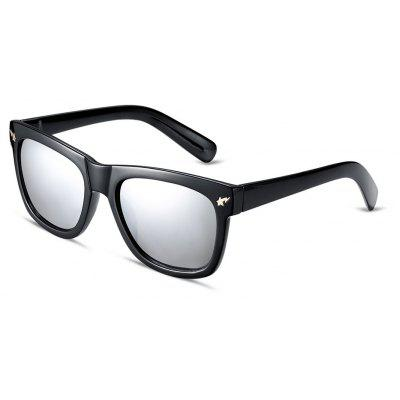 Square Frame Color Coated Sunglasses