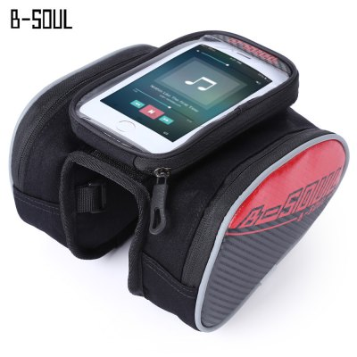B - SOUL YA162 Bicycle Front Frame Tube Bag