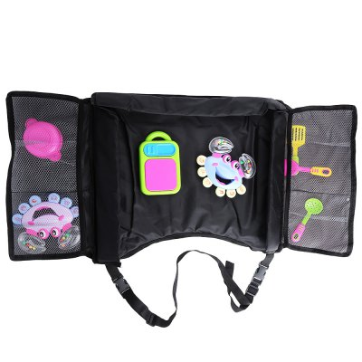 Baby Vehicle Safety Seat Belt Travel Play Tray Tablet Table