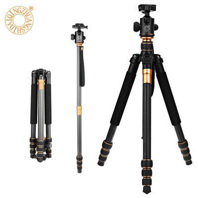 QZSD Q999C 62.2 Inches Lightweight Tripod Monopod with 1/4 Screw