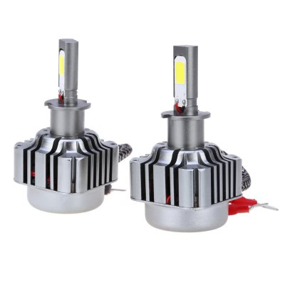 2pcs H3 36W 4800LM COB Car Vehicle LED Headlight