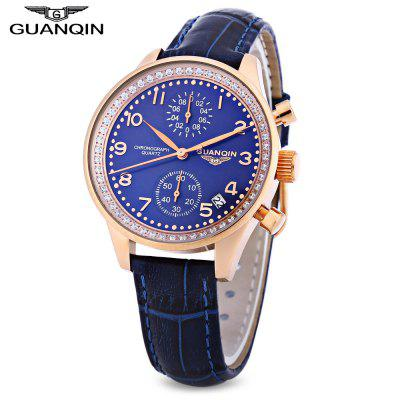 GUANQIN CQ15008 Women Quartz Watch