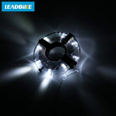 LEADBIKE Bicycle Waterproof Hub Warning Spoke Light