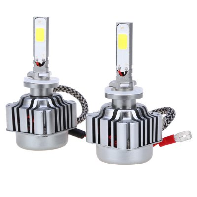 2pcs 36W 4800LM 880 881 H27 COB Faro dell'automobile del LED