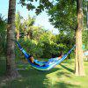 Durable Hammock Swing Canvas Trapeze - AZUL Y VERDE