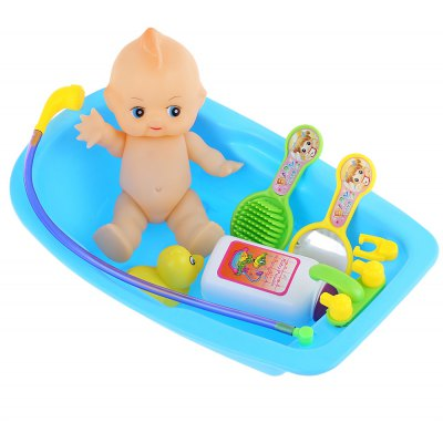 Simulated Infant Bathing Bathtub Toy