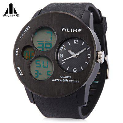 ALIKE AK16120 Male Dual Movt Military Watch