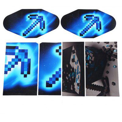 Console Skin Sticker 2 Controller Decal for PS4