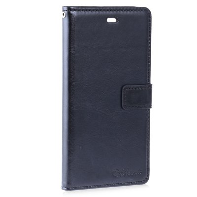Crazy Horse Series Magnetic Flip PU Leather Wallet Cover for Huawei P9
