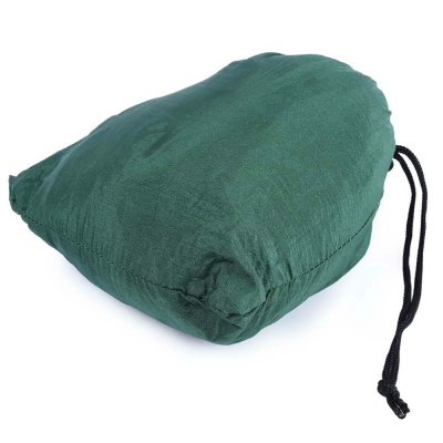 2 Person Hammock Assorted Color Parachute Nylon FabricHammock and Sleeping Bags<br>2 Person Hammock Assorted Color Parachute Nylon Fabric<br><br>Package Contents: 1 x Portable Parachute Nylon Fabric Hammock, 2 x Hook Holder, 2 x Guy Rope<br>Package Size(L x W x H): 19.00 x 20.50 x 9.00 cm / 7.48 x 8.07 x 3.54 inches<br>Package weight: 0.5120 kg<br>Product weight: 0.4220 kg