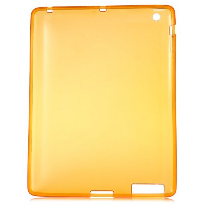 Ultra Slim TPU Back Cover for iPad 2 / 3 / 4