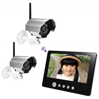 SY903D12 Wireless IP Camera 9 Inch Screen Monitor