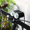 T6 2400LM Bicycle Headlight with USB - BLACK