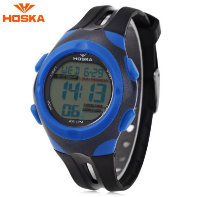 HOSKA H012S Digital Children Sport Watch
