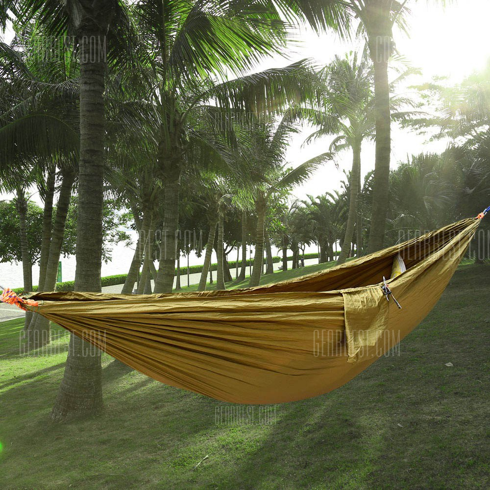 fabric portable person on bed two outdoor swing travel nylon in colorful lover furniture item camping sleeping hammocks family hammock for parachute from
