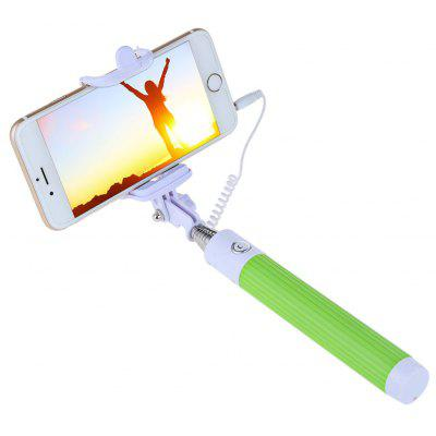 Collapsible Selfie Stick Monopod Camera Shutter