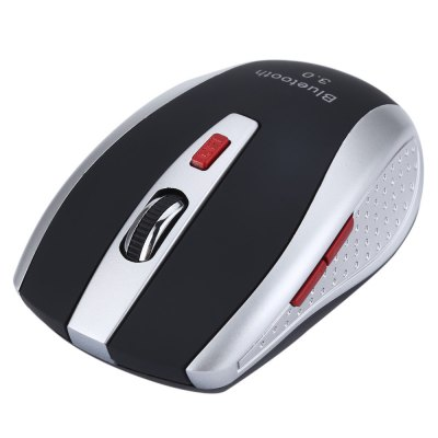 A902 Bluetooth 3.0 6D 2400DPI Optical Gaming MouseMouse<br>A902 Bluetooth 3.0 6D 2400DPI Optical Gaming Mouse<br><br>Application: Desktop, Laptop<br>Color: Black,Red<br>DPI: 1200,1600,2400,800<br>Interface Type: Bluetooth<br>Number of Buttons: 6<br>Number of Rollers: 1<br>Package Contents: 1 x Mini Wireless Bluetooth 3.0 6D 2400DPI Optical Gaming Mouse<br>Package Size(L x W x H): 11.00 x 9.00 x 6.50 cm / 4.33 x 3.54 x 2.56 inches<br>Package weight: 0.100 kg<br>Power Type: Battery<br>Product Size(L x W x H): 9.50 x 6.00 x 3.00 cm / 3.74 x 2.36 x 1.18 inches<br>Product weight: 0.054 kg<br>Type: Bluetooth wireless